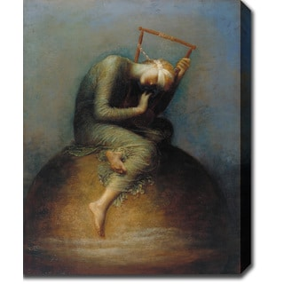 George Frederic Watts 'Hope' Oil on Canvas Art