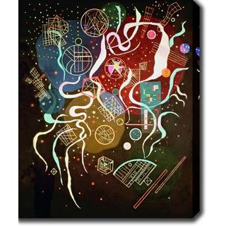 Wassily Kandinsky 'Movement I' Oil on Canvas Art