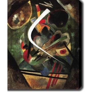 Wasilly Kandinsky 'White Line' Oil on Canvas Art