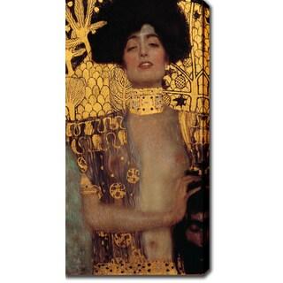 Gustav Klimt 'Judith and Holopherne' Oil on Canvas Art