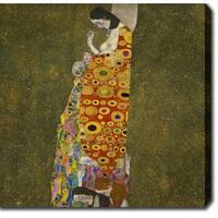 Gustav Klim 'Hope II' Oil on Canvas Art