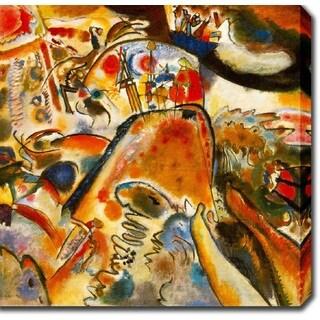 Wasilly Kandinsky 'Small Pleasures' Oil on Canvas Art