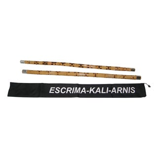 Escrima Kali Arnis Karate Martial Arts Fighting Rattan Sticks Set