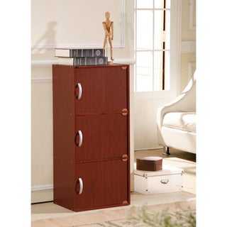 Three-door Wooden Storage Cabinet