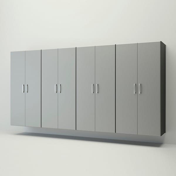 Flow Wall 6-piece Jumbo Cabinet Storage Center