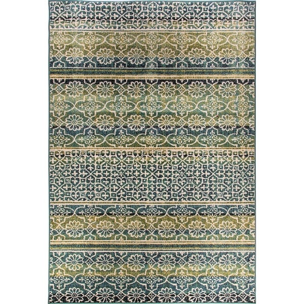 Eternity Striped Moroccan Rug (7.10' x 11.2')