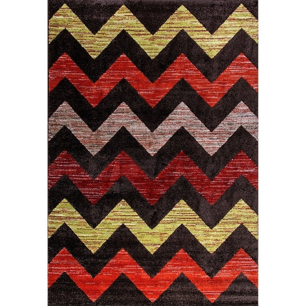 Eternity Chevron Rug - 7'10 X 11'2