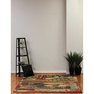 Eternity Aged Abstract Area Rug (7'10 x 11'2)