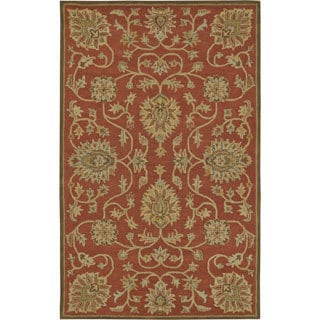 Paragon Copper Wool Rug (2' x 4')