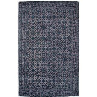 Paragon Dark Grey Wool Rug (2' x 4')