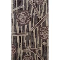 Symphony Floral Forest Rug (6'7 x 9'6) - 6'7 x 9'6