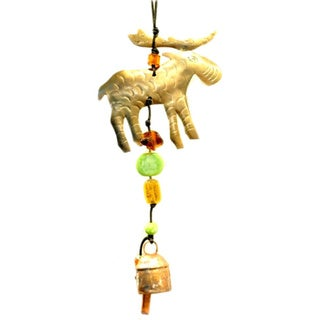 Handmade Moose Wind Chime (India)