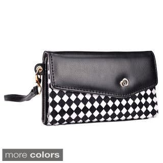 Kroo Mink Zipper Pocket Clutch Wristlet Wallet|https://ak1.ostkcdn.com/images/products/9046044/Kroo-Mink-Zipper-Pocket-Clutch-Wristlet-Wallet-P16243255.jpg?impolicy=medium