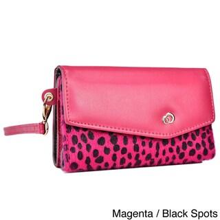 Kroo Mink Zipper Pocket Clutch Wristlet Wallet (3 options available)