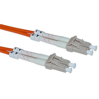 Offex LC / LC 50/125 Multimode Duplex Fiber Optic Cable