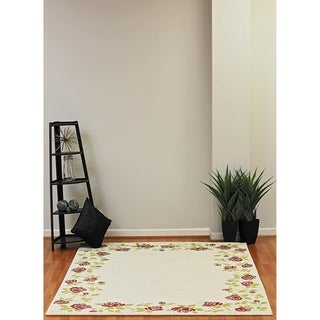 Eternity Rose Garden Rug (5.3' x 7.7')