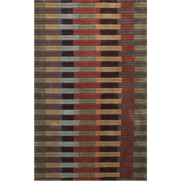 Symphony Color Block Rug (6'7 x 9'6) - 6'7 x 9'6
