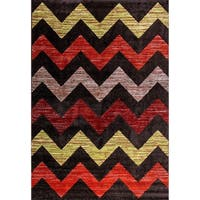 Eternity Chevron Rug - 6.7' x 9.6'