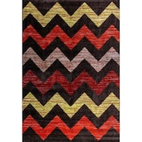 Eternity Chevron Rug - 5'3 x 7'7