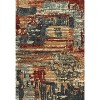 Eternity Aged Abstract Rug (2' x 3.11')