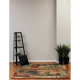 Eternity Aged Abstract Rug (6.7' x 9.6')
