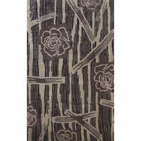 Symphony Floral Forest Rug (5' x 8') - 6'7 x 9'6