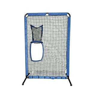Dual Protective Portable Pitching Screen