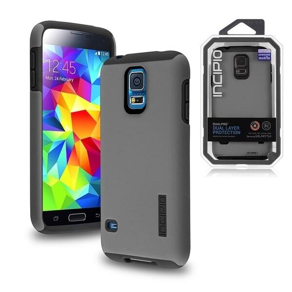 premium selection 183fd f3a79 Shop Incipio DualPro Protective Cover Case for Samsung Galaxy S5/ SV ...
