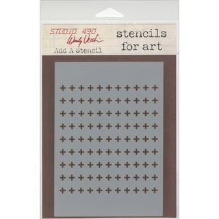 "Wendy Vecchi Studio Stencil Collection 6.5""X4.5""-Add A Stencil"