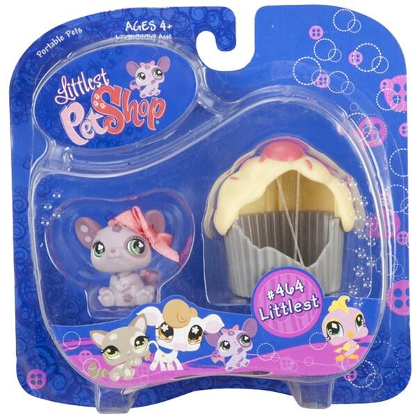 Lil Pet Shop Purple Mouse