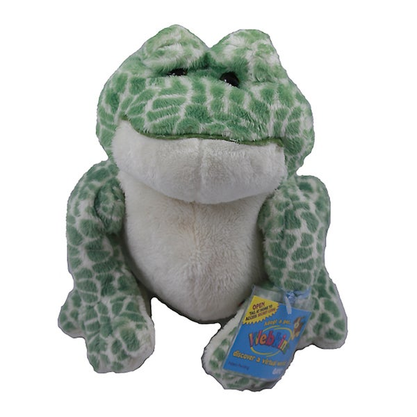 Webkinz Large Spotted Frog Plush Animal