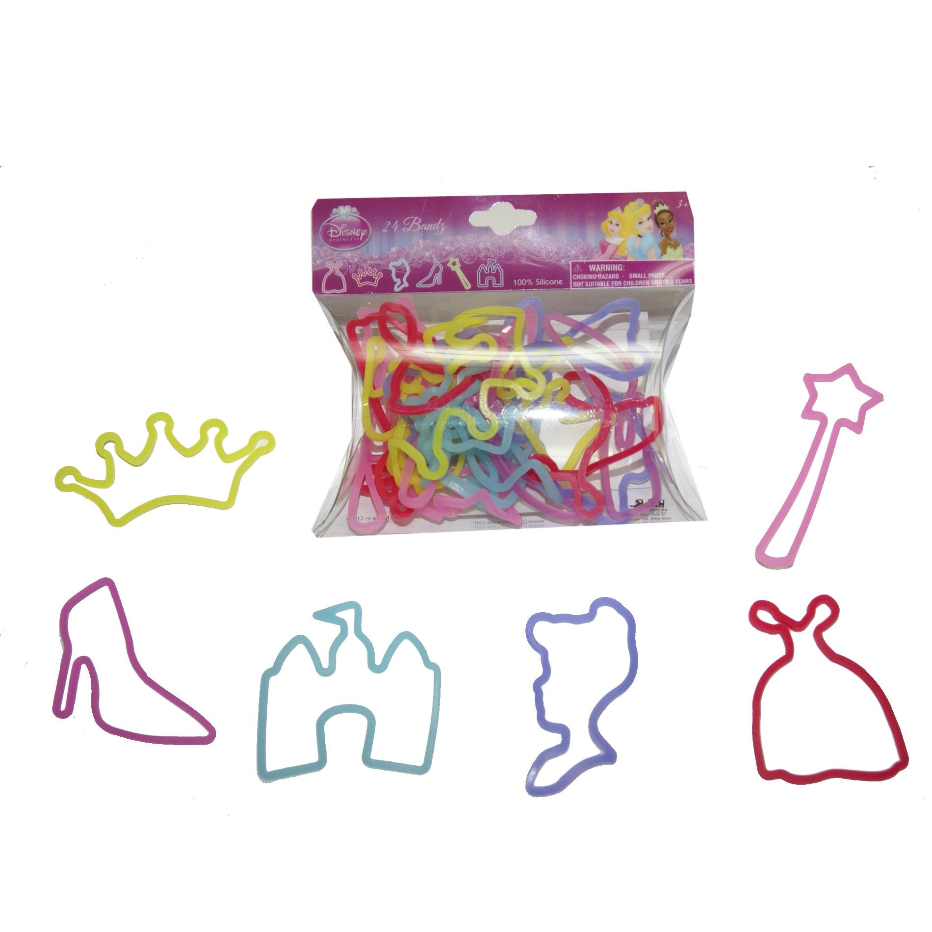 Princess Rubber Bracelet Bandz (1), Toddler Girl's (Plastic)