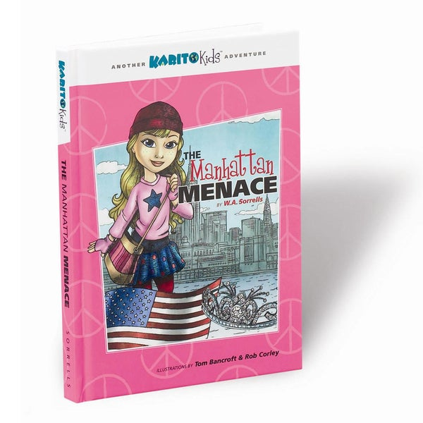 Karito Kids The Manhattan Menace Book