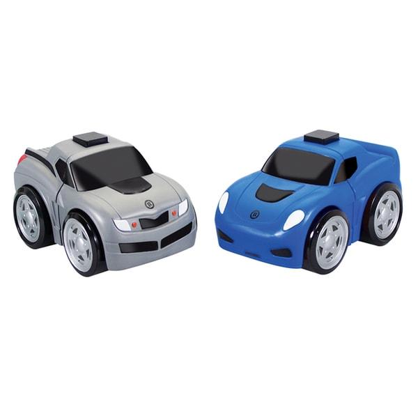 Ratchet Racers Race Car and Pick up Truck Vehicle Set