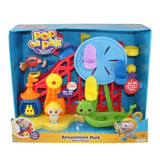 Pop On Pals Girl's Amusement Park Playset