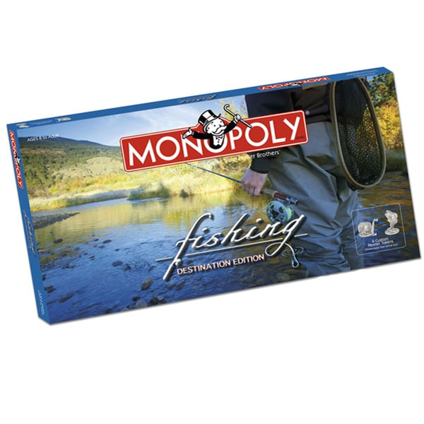 Fishing Edition Monopoly Board Game