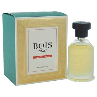Bois 1920 Vetiver Ambrato Men's 3.4-ounce Eau de Toilette Spray