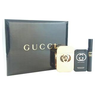 Gucci Guilty Women's 3-piece Gift Set