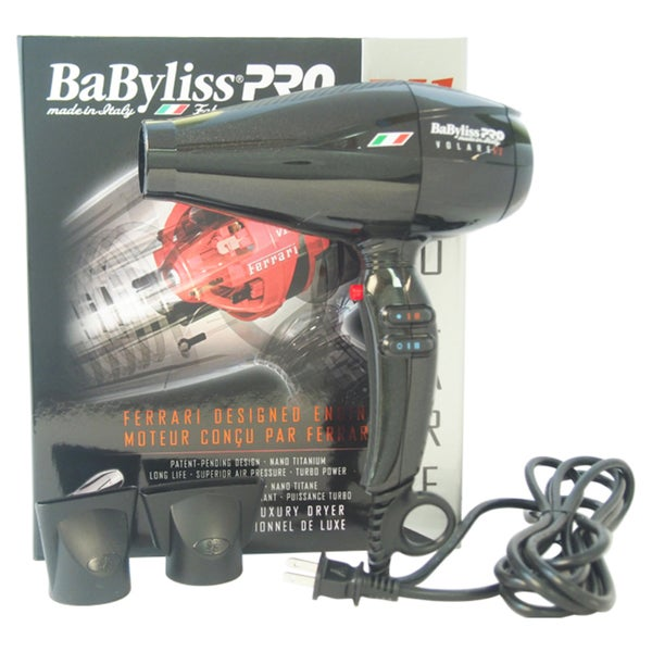 BaBylissPRO V1 Volare Ferrari Designed Engine Hair Dryer