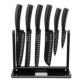 Cuisinart Nonstick Edge Collection 7-piece Cutlery Set with Acrylic Stand