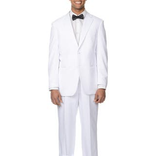 Bolzano Uomo Collezione Men's White 2-button Tuxedo Suit|https://ak1.ostkcdn.com/images/products/9048500/Bolzano-Uomo-Collezione-Mens-White-2-button-Tuxedo-Suit-P16245368.jpg?impolicy=medium