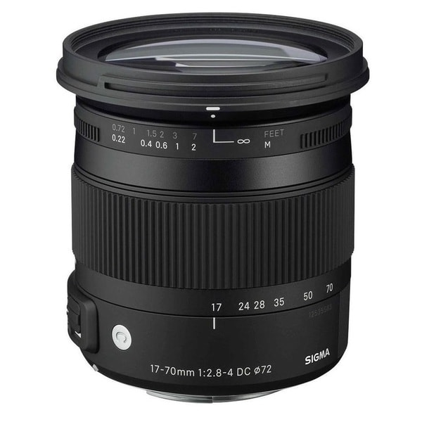 shop sigma 17 70mm f 2 8 4 dc macro os hsm lens for nikon free shipping today. Black Bedroom Furniture Sets. Home Design Ideas