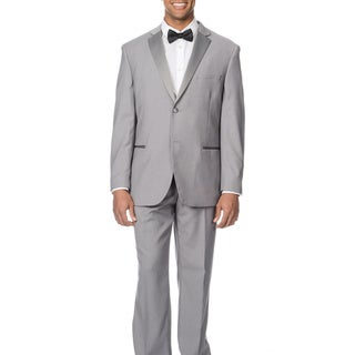 Caravelli Men's Slim Fit Light Grey Tuxedo