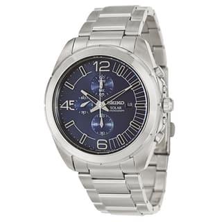 Seiko Men's SSC201 'Core' Stainless Steel Navy Chronograph Watch|https://ak1.ostkcdn.com/images/products/9048571/Seiko-Mens-SSC201-Core-Stainless-Steel-Navy-Chronograph-Watch-P16245401.jpg?impolicy=medium