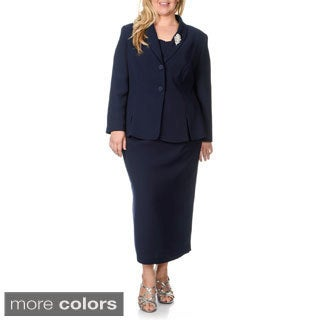 Giovanna Signature Women's Plus-size 2-piece Skirt Suit|https://ak1.ostkcdn.com/images/products/9048603/P16245436.jpg?_ostk_perf_=percv&impolicy=medium