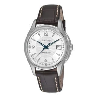 Hamilton Men's H32455557 Jazzmaster Viewmatic Watch|https://ak1.ostkcdn.com/images/products/9048608/Hamilton-Mens-H32455557-Jazzmaster-Viewmatic-Watch-P16245442.jpg?impolicy=medium