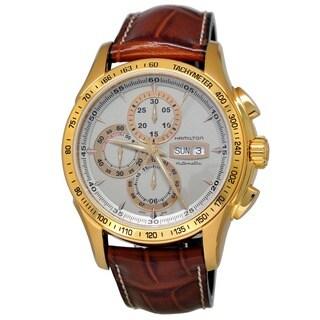 Hamilton Men's H32836551 Jazzmaster Lord Hamilton Chronograph Watch