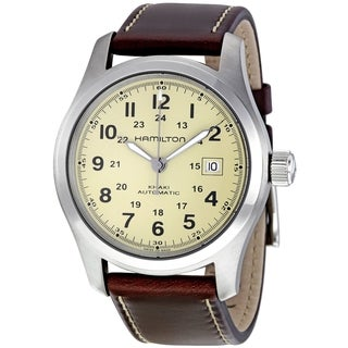 Hamilton Men's H70555523 Khaki Field Automatic Silvertone Watch