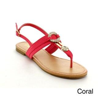 Rck Bella Atina-24 Women's Dimond Flat Sandal Shoes