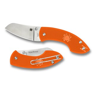 Pingo Lightweight Orange SLIPIT PlainEdge Knife